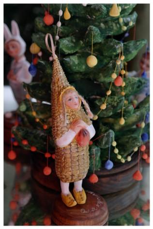 Оля - кукуруза!